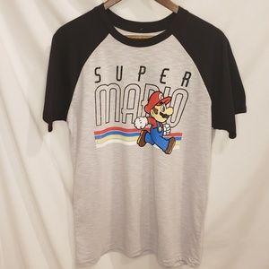 Nwt Super Mario Baseball Tee. Size M